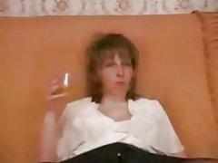 Russische ältere anal