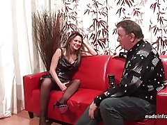 Harte anal Casting Couch Amateur Mom fisted und dp