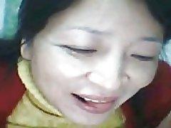Chinesische Lili hat große Titten