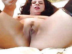 Erstaunliche Arsch Latina Milf Camgirl Cums auf dildo