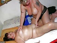 Oldnanny Fett Reife massage alte Oma