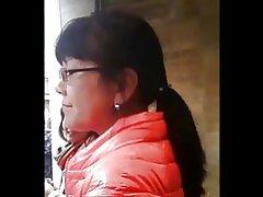 Chinesische Milf Arsch