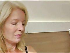 Blonde Milf Analsex